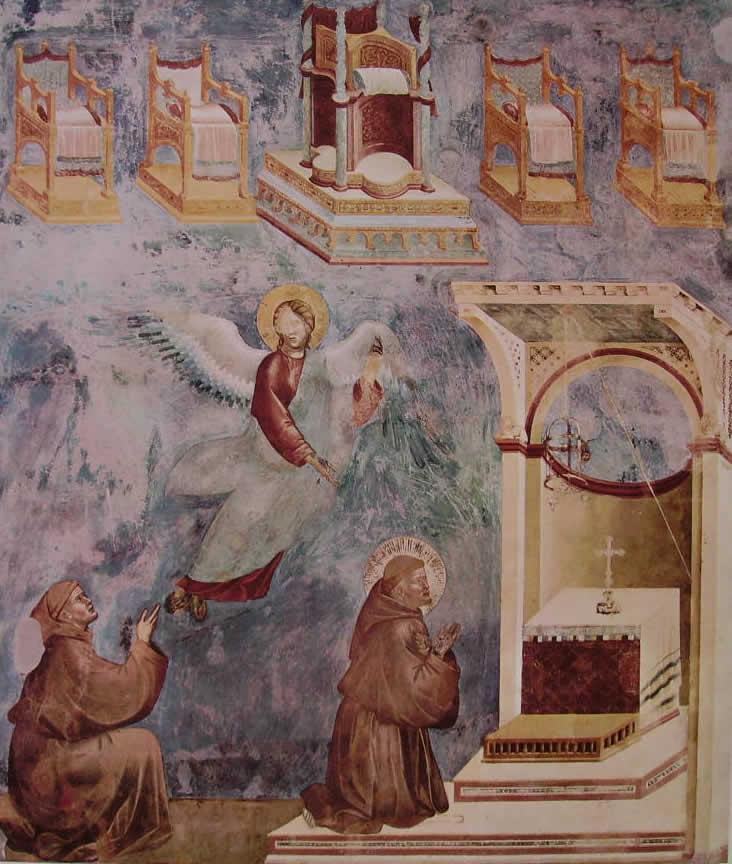 Giotto: La visione dei troni