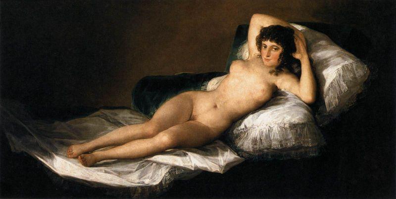 Goya - La Maja desnuda