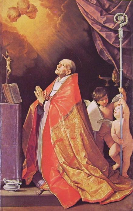 Sant'Andrea Corsini in estasi,