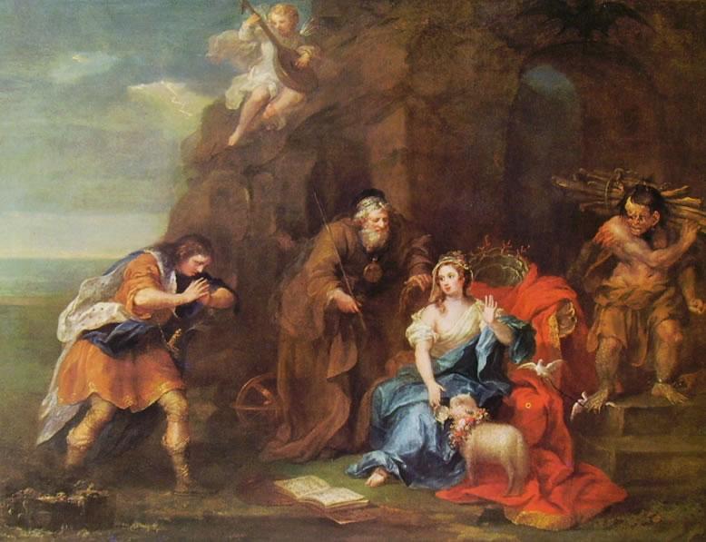 William Hogarth: Scena dalla Tempesta di Shakespeare