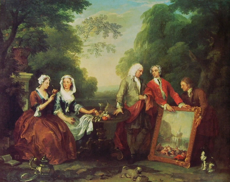 William Hogarth: La famiglia Fountaine
