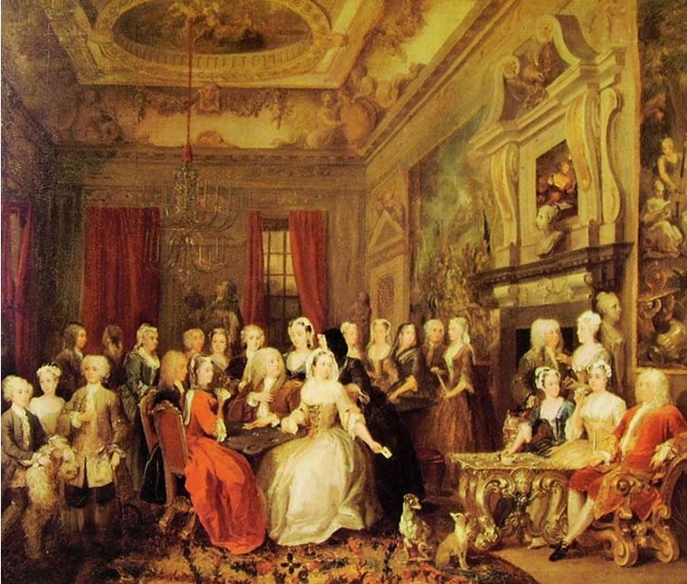 William Hogarth: Trattenimento in casa Child