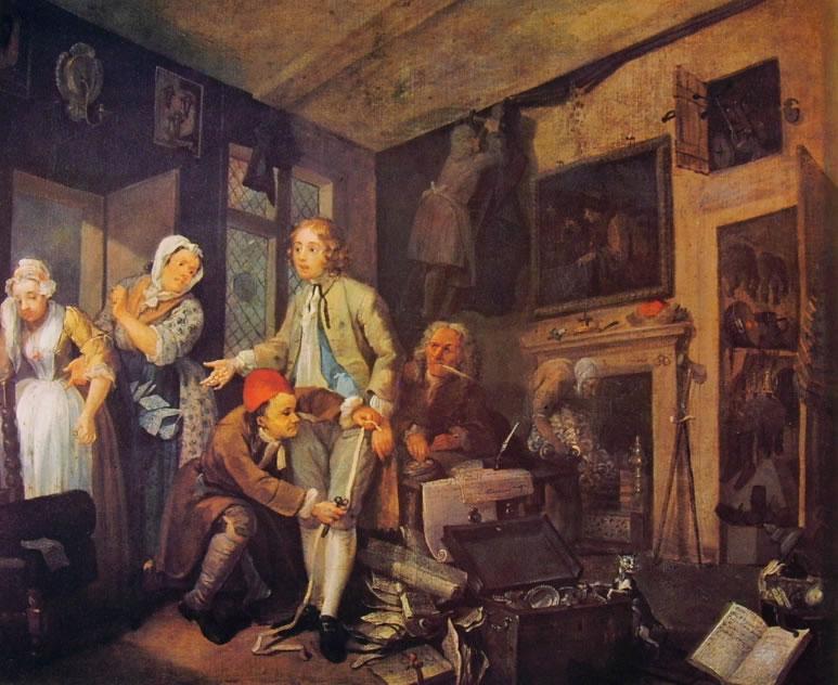 William Hogarth: La carriera del libertino - L'Eredità