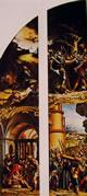 10 Holbein - Pannelli di un altare della passione
