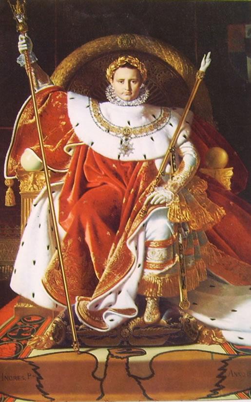 Jean-Auguste-Dominique Ingres: Napoleone I sul trono imperiale