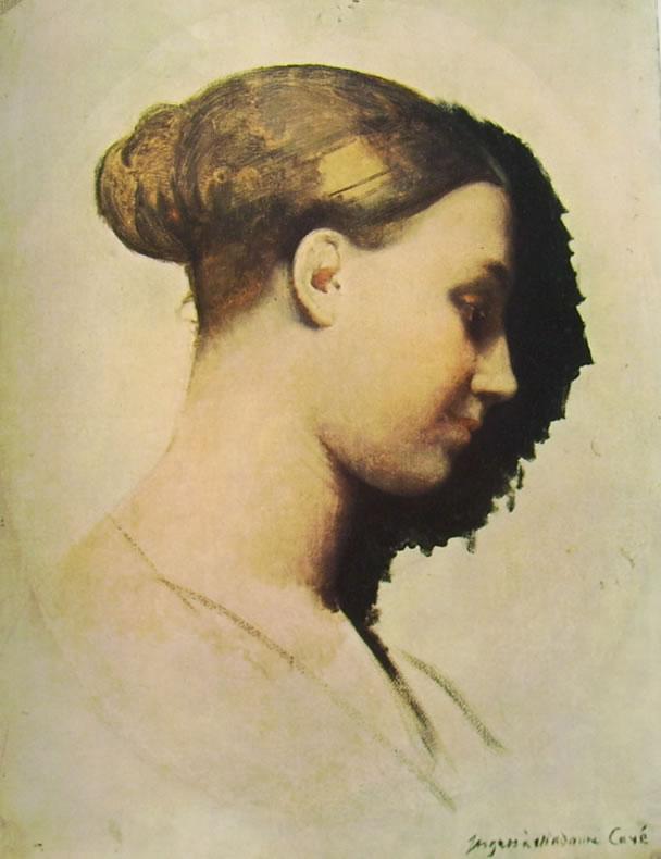 Jean-Auguste-Dominique Ingres: Madame Cavè