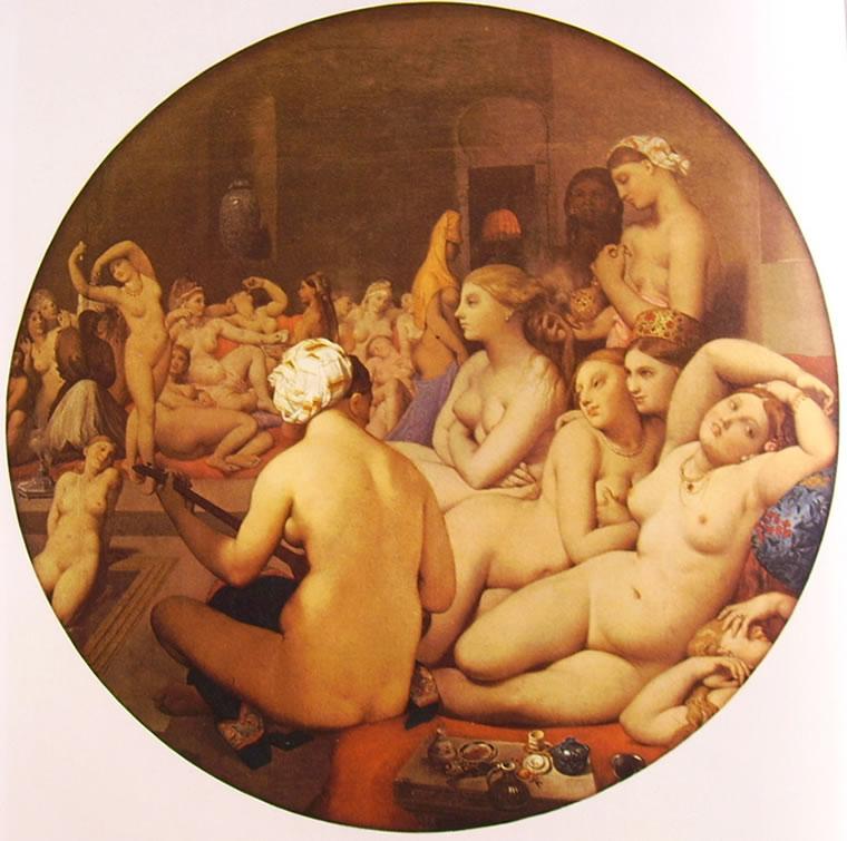 Jean-Auguste-Dominique Ingres: Bagno turco