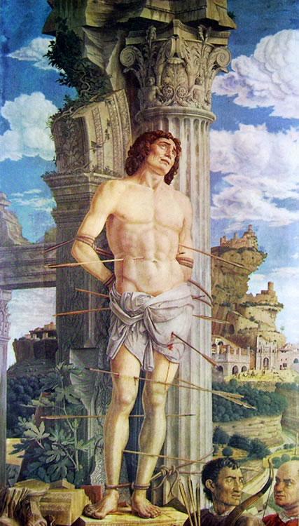 Mantegna: San Sebastiano