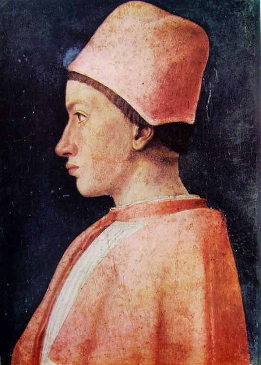 Mantegna: Ritratto di un prelato di casa Gonzaga