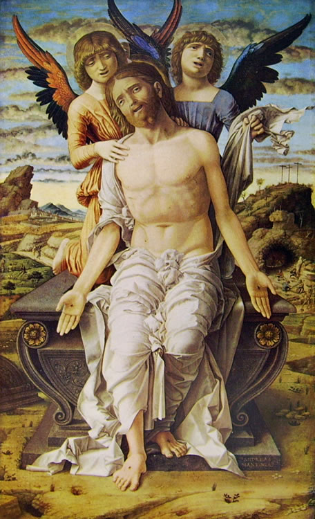 Mantegna: Cristo in pietà