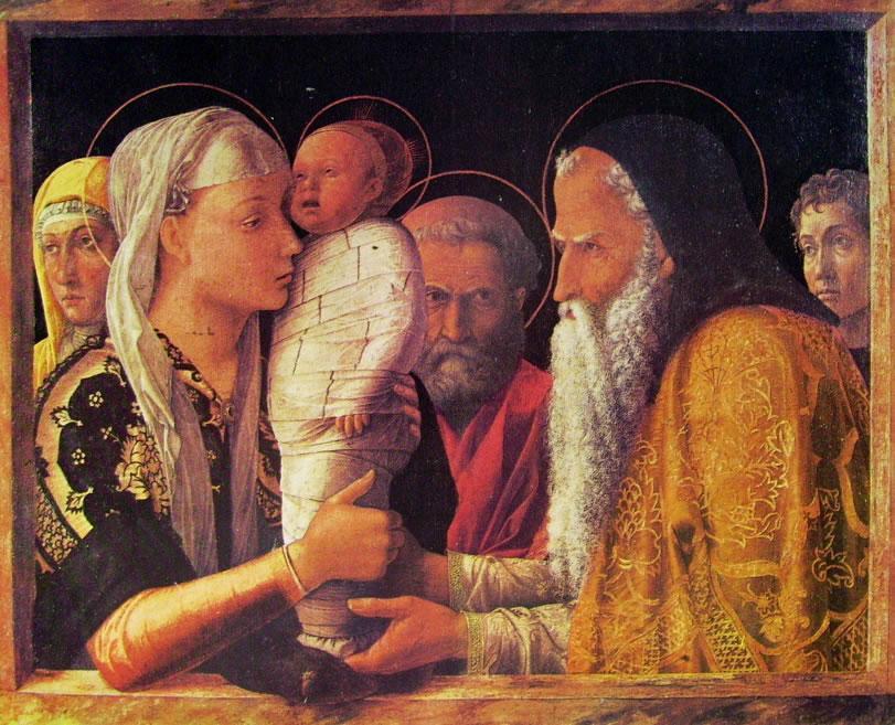 Mantegna: La presentazione al tempio