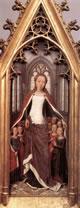Sant'Orsola che protegge le compagne