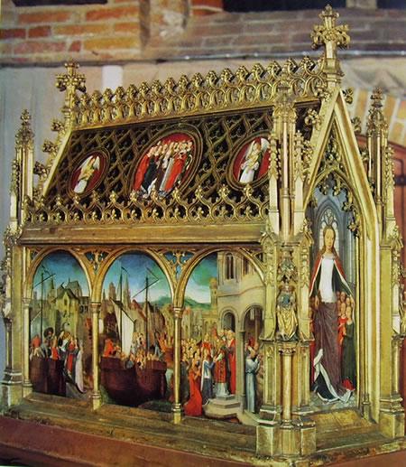 Hans Memling: Reliquiario di Sant'Orsola