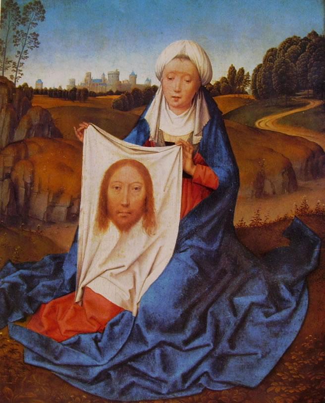 Hans Memling: Dal Dittico di San Giovanni Battista e la Veronica - Santa Veronica