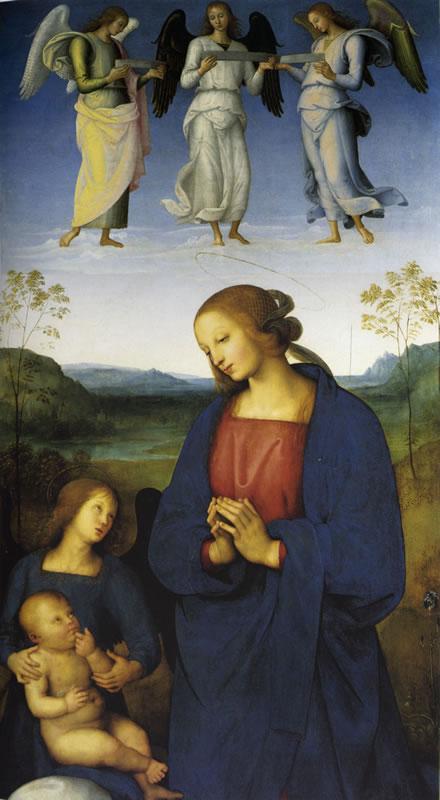Il Perugino: Polittico della Certosa di Pavia