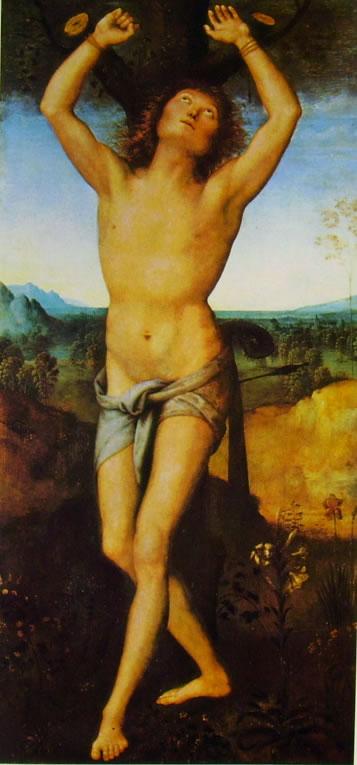 Il Perugino: San Sebastiano