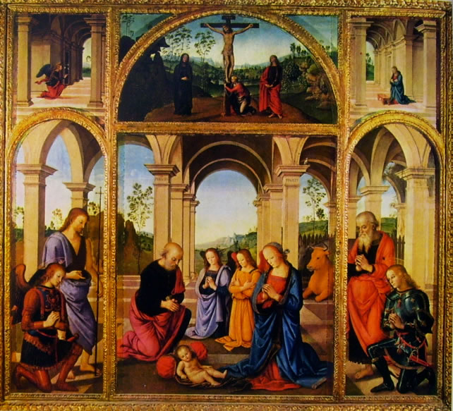 Il Perugino: Polittico Albani Torlonia