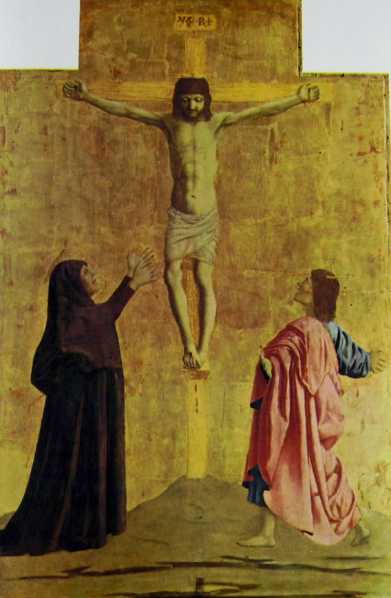 Piero della Francesca: La Crocifissione