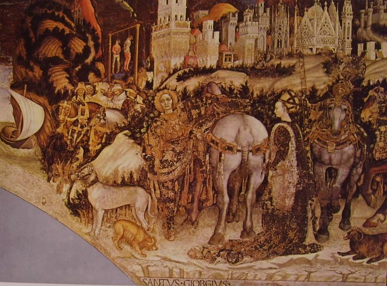 Image result for Sant'anastasia,Verona pisanello