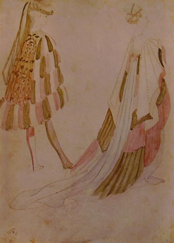 Pisanello: Cavaliere e dama