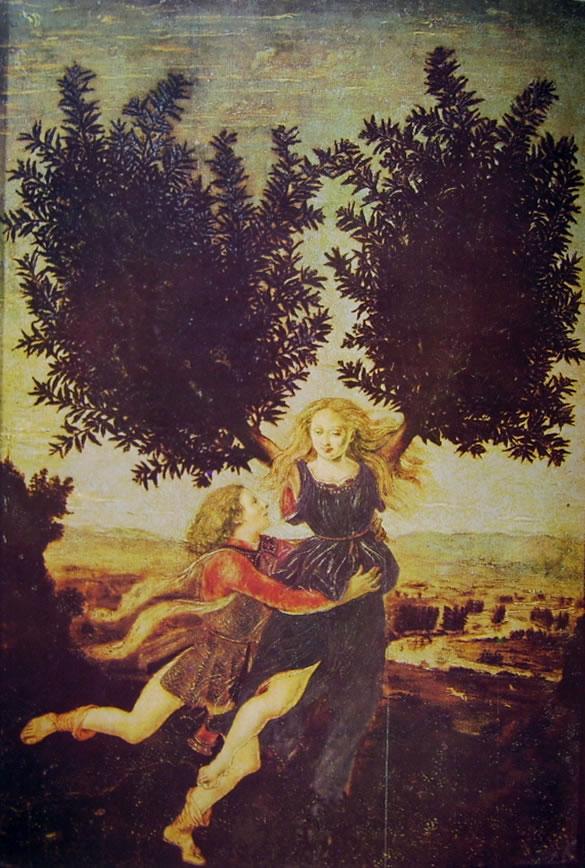 Antonio del Pollaiolo: Apollo e Dafne