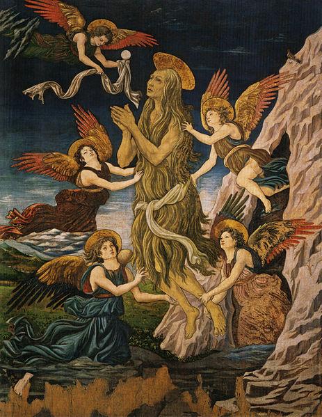 Antonio del Pollaiolo: Santa Maria Egiziaca Assunta in cielo