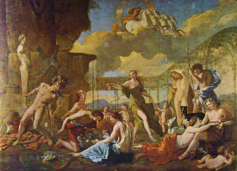 Nicolas Poussin: L'impero di Flora