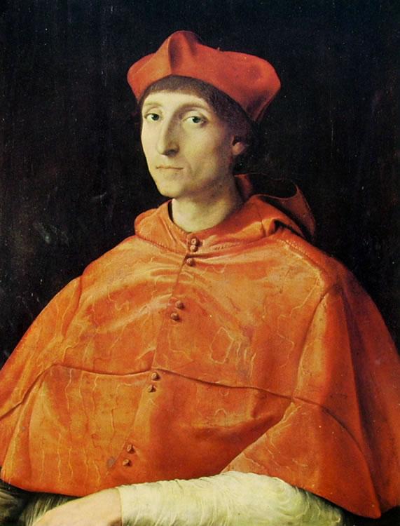 Raffaello Sanzio: Ritratto di cardinale