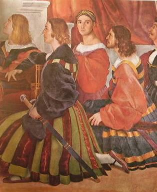 Raffaello - la Messa di Bolsena della stanza di Eliodoro
