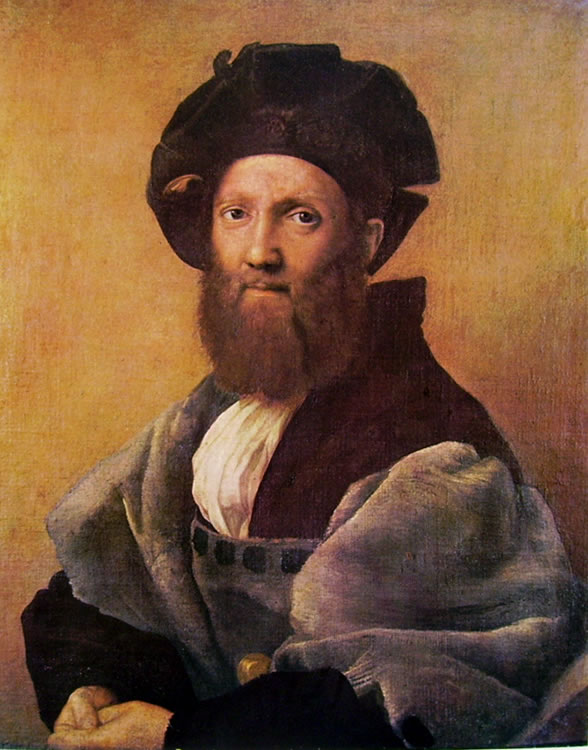 Raffaello Sanzio: Ritratto di Baldassar Castiglione