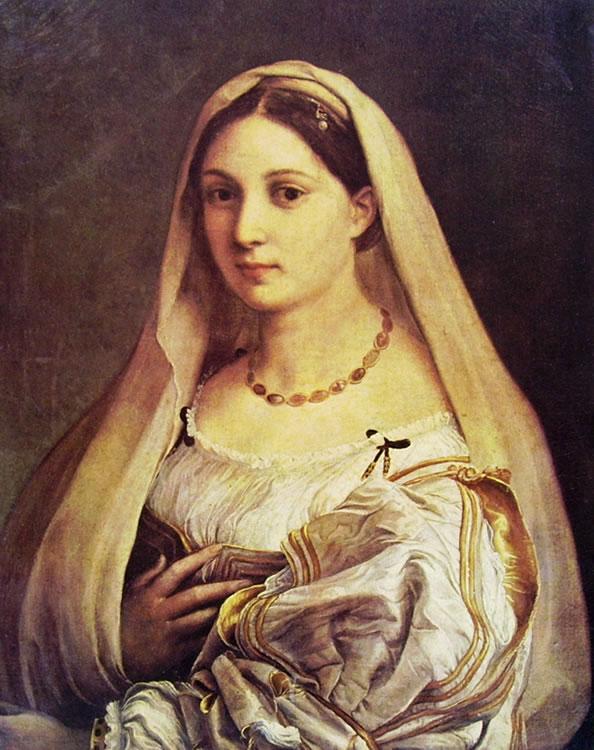 Raffaello Sanzio: La velata (donna velata)