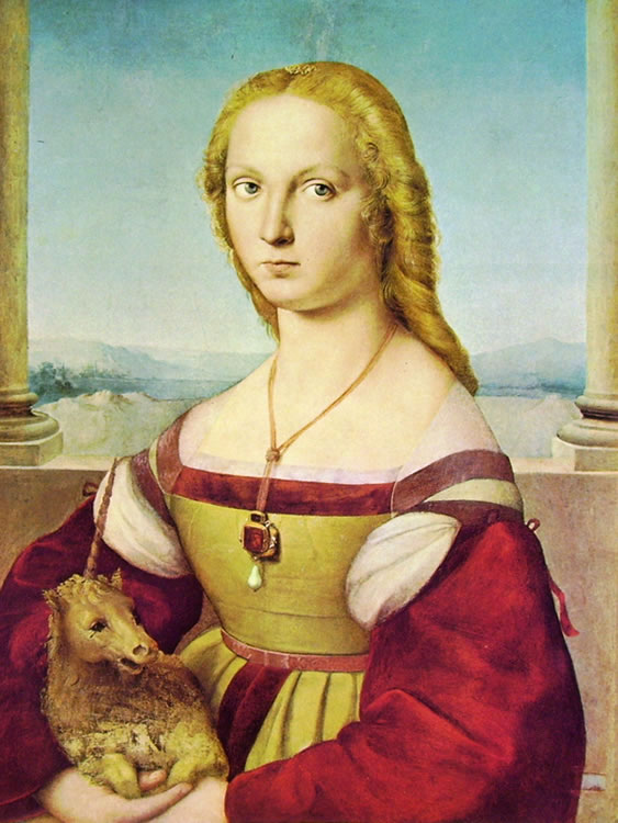 Raffaello Sanzio: Dama con liocorno
