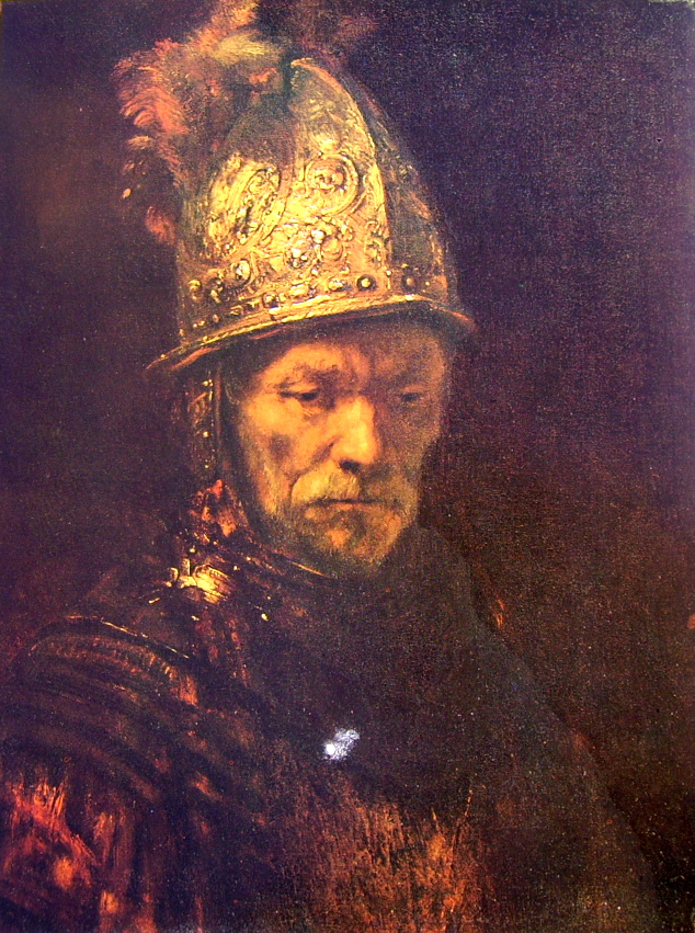 Rembrandt Harmenszoon Van Rijn: L'uomo dall'elmo d'oro