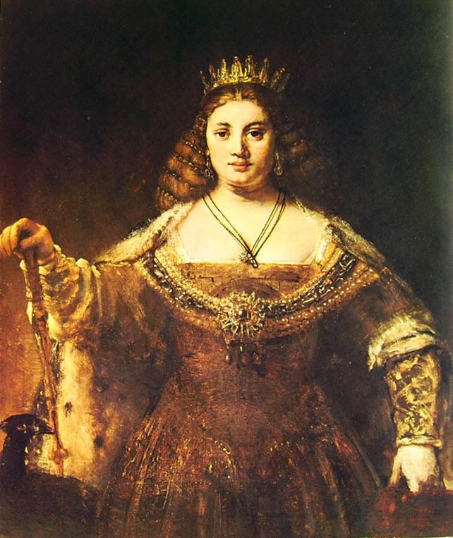 Rembrandt Harmenszoon Van Rijn: Giunone