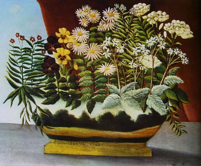 Rousseau il Doganiere: Fiori di poeta