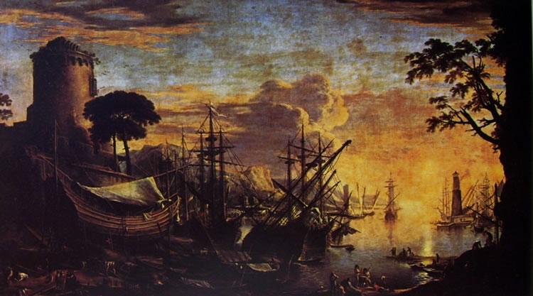 Salvator Rosa: Marina del Porto