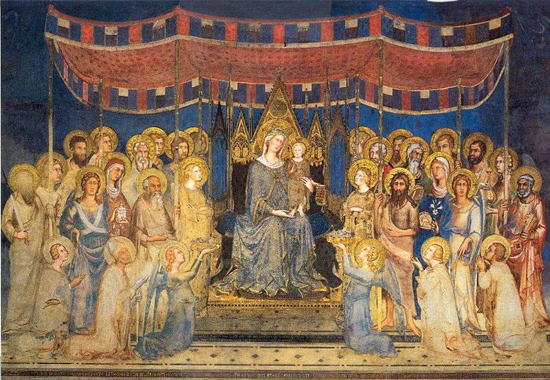 Simone Martini: Maestà (Palazzo Pubblico di Siena)