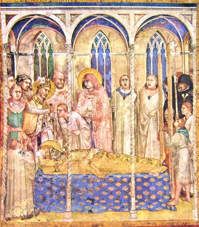 Le esequie di San Martino, cm. 284 x 230