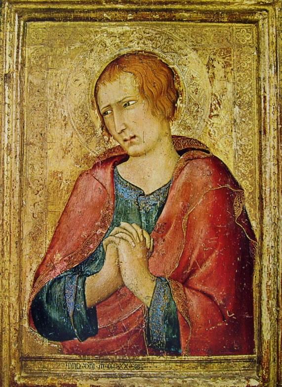 Simone Martini - San Giovanni Evangelista