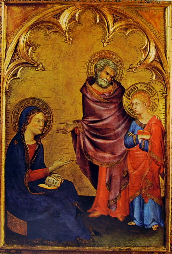 Simone Martini - Sacra Famiglia