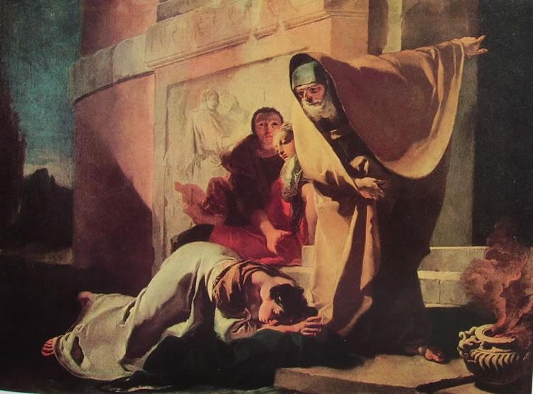 Il Tiepolo: Il ripudio di Agar