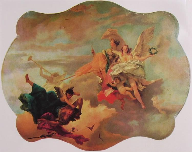 Il Tiepolo: Il trionfo della fortezza e della sapienza
