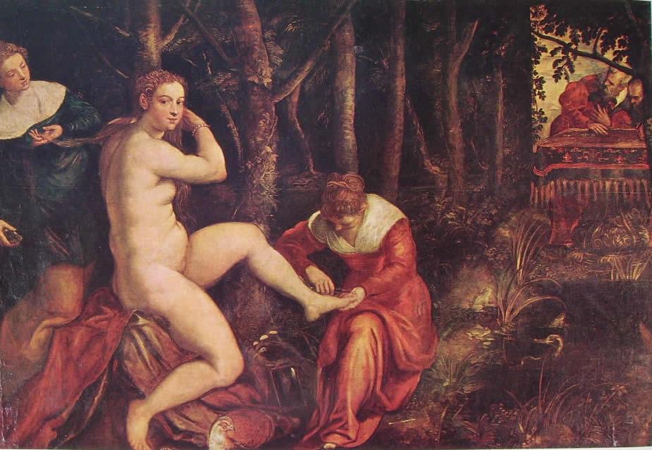 Il Tintoretto: Susanna e i vecchioni