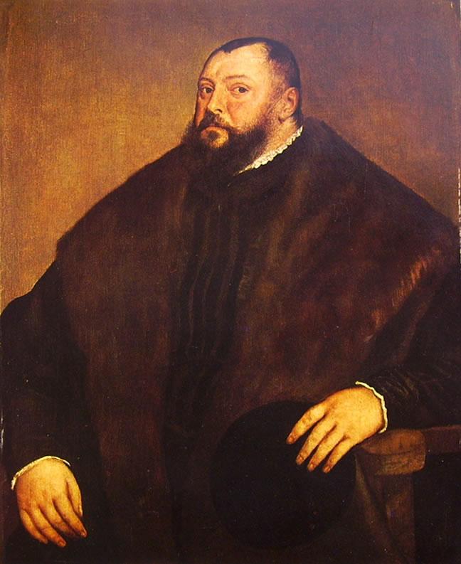 Tiziano: Ritratto di Giovanni Federico di Sassonia