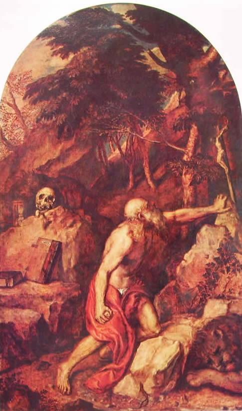 Tiziano: San Girolamo