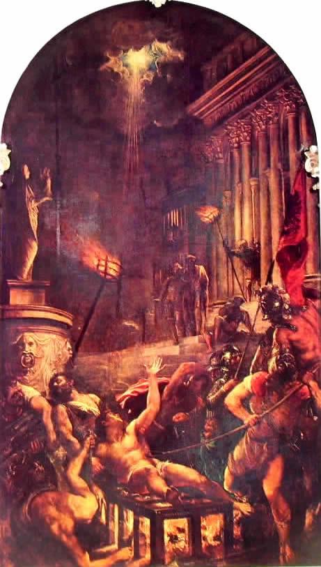 Tiziano: Il martirio di San Lorenzo
