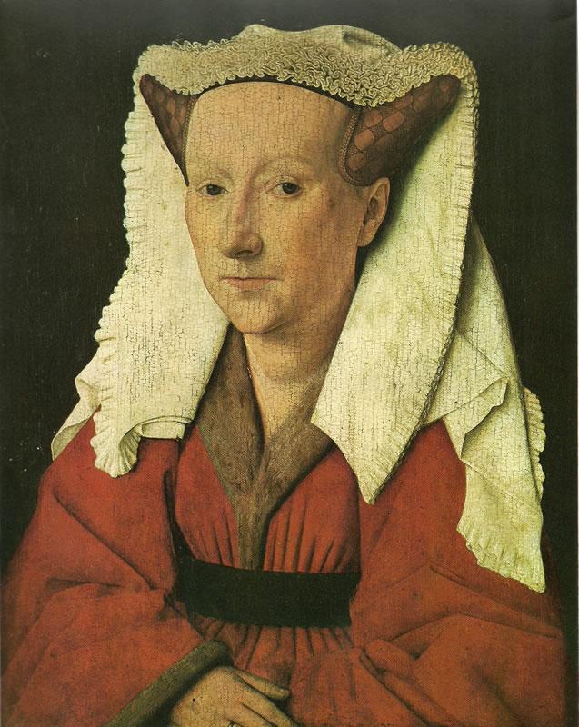 Jan van Eyck:Margaretha van Eyck