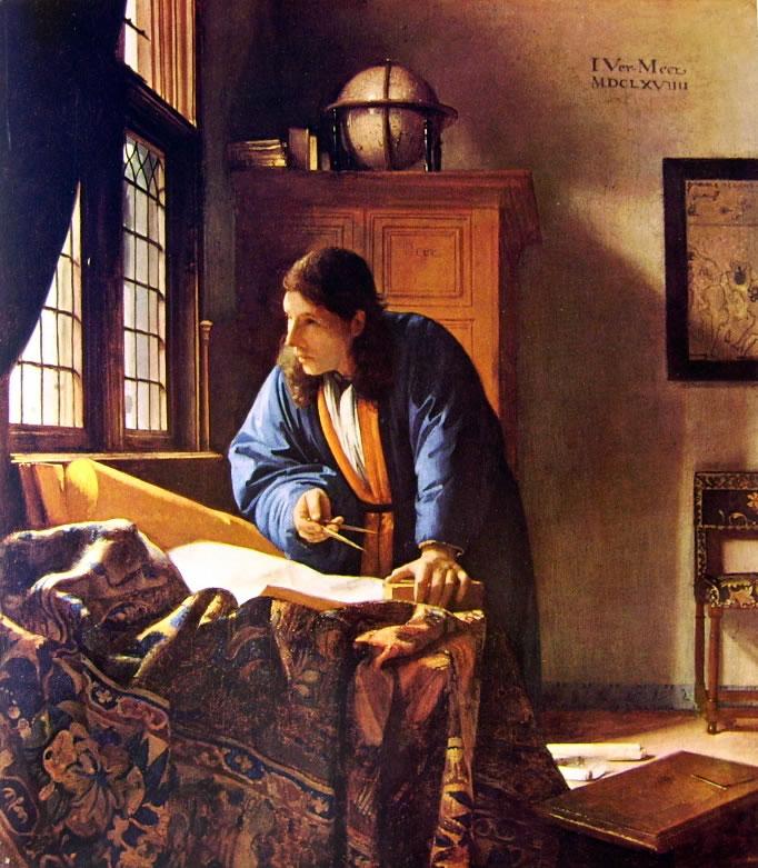 Jan Vermeer: Geografo