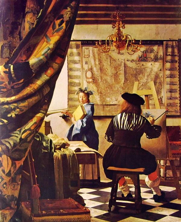 Jan Vermeer: L'atelier