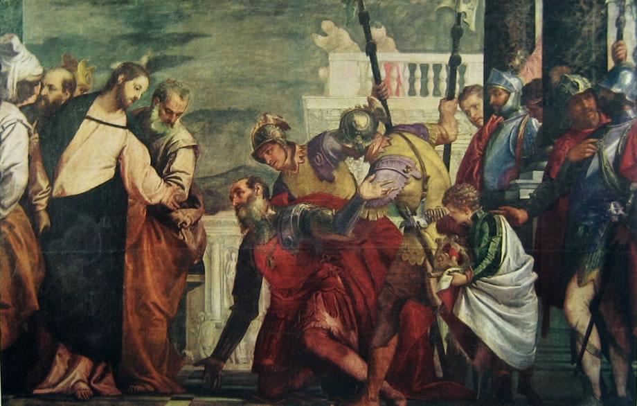 Il Veronese: Cristo e il centurione